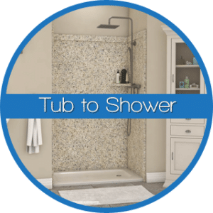 Bathtub to Shower Conversion Calgary Okotoks Alberta